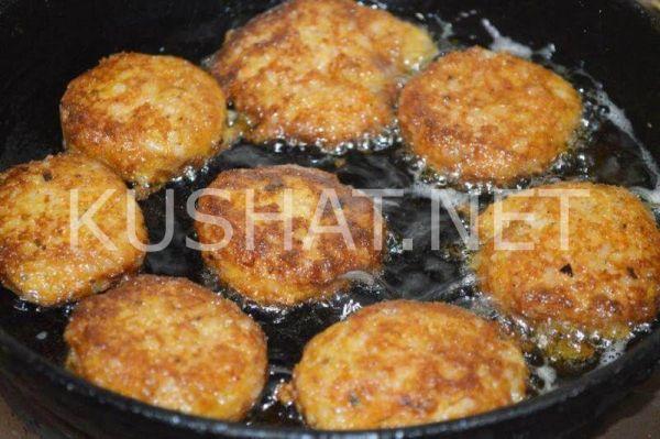 Рыбные котлеты с рисом. Пошаговый рецепт с фото • Кушать нет