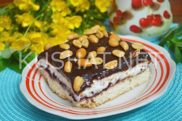 Песочный пирог с безе и шоколадом. Пошаговый рецепт с фото ...