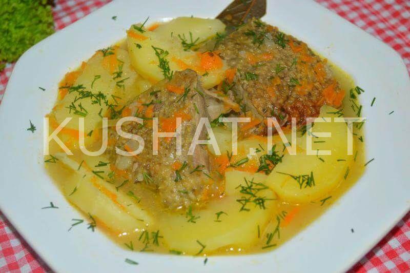 Утка тушеная с картошкой. Пошаговый рецепт с фото • Кушать ...