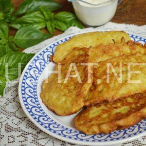 Оладьи из баклажанов. Пошаговый рецепт с фото • Кушать нет