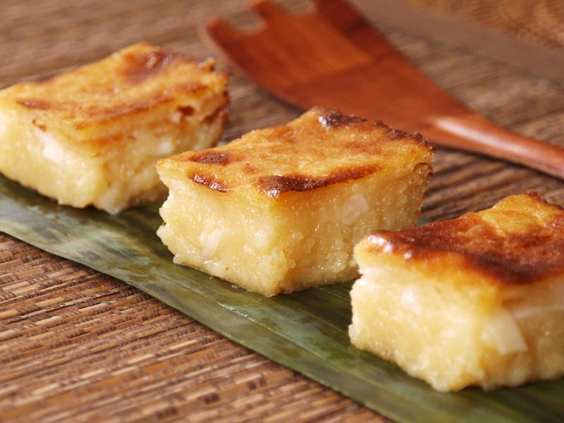 Easy Cassava Cake Recipe