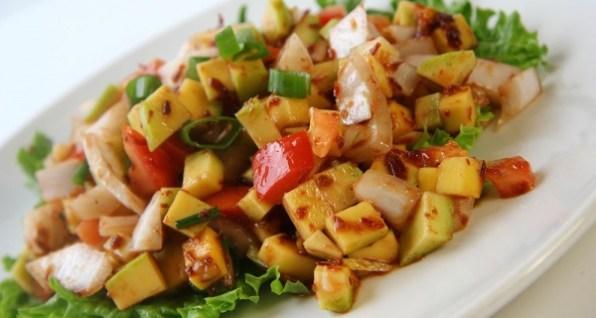 Green Mango Ensalada Recipe