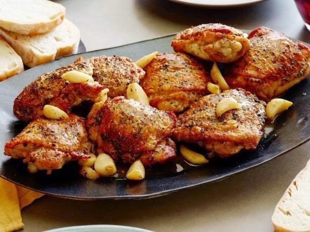 Roasted Garlic Clove Chicken Recipe