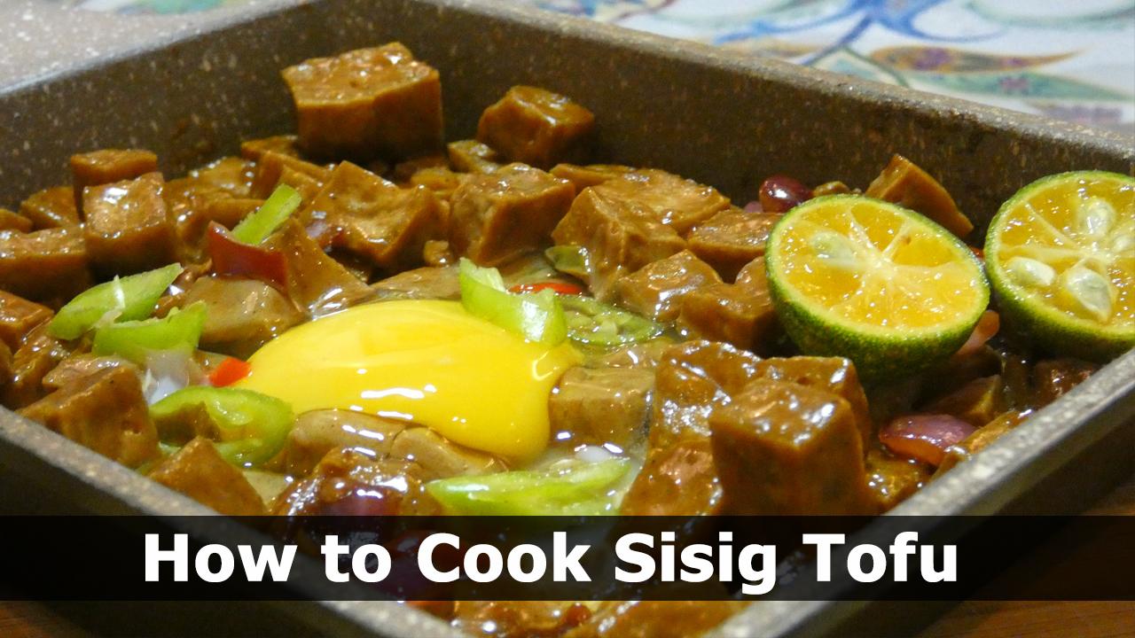 How to Cook Sisig Tofu