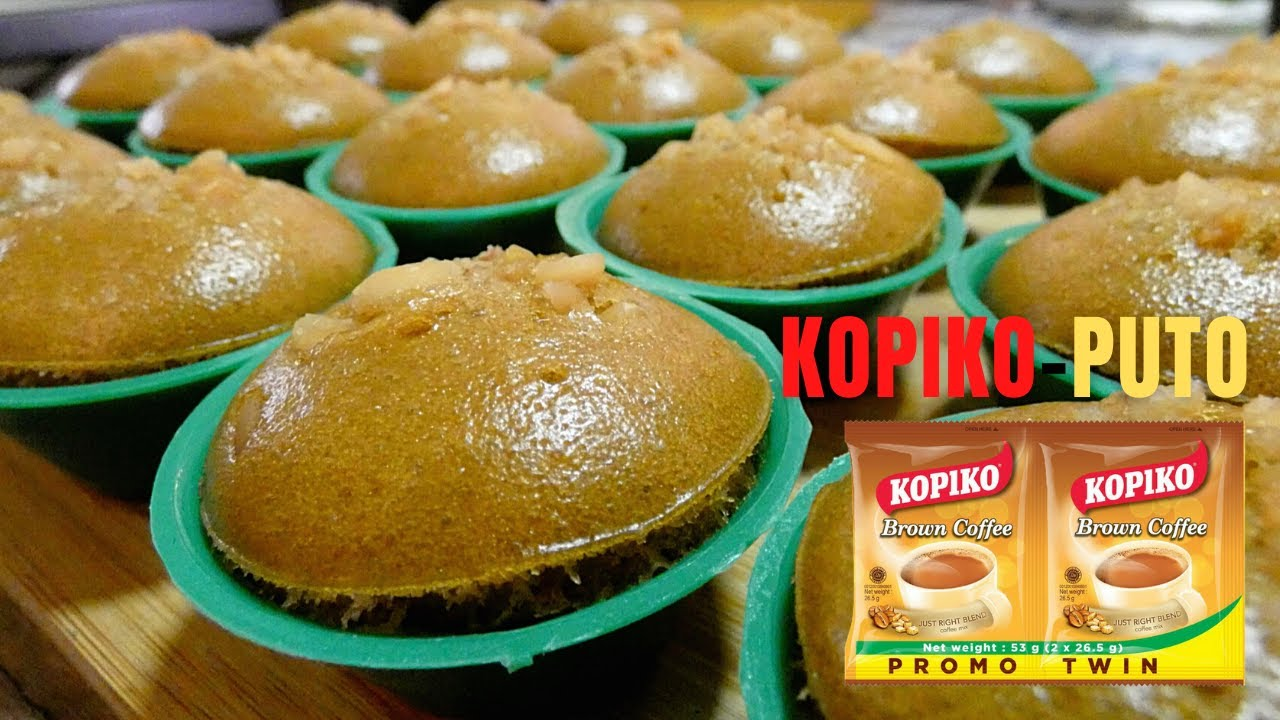 3 in 1 Kopiko PUTO Recipe