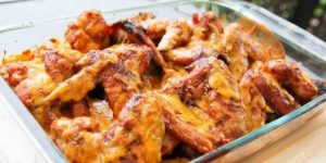 Cheesy Chicken Wings Recipe