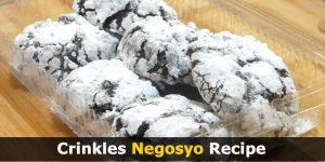 Crinkles Negosyo Recipe