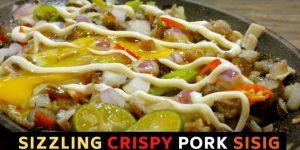 Sizzling Crispy Pork Sisig