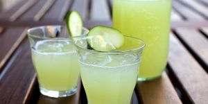 Easy step to make Cucumber Lemonade