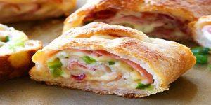 Ham And Swiss Stromboli Recipe
