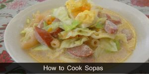How to Cook Sopas / Creamy Chicken Macaroni Soup