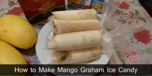 How to Make Mango Graham Ice Candy  / Negosyo Recipe
