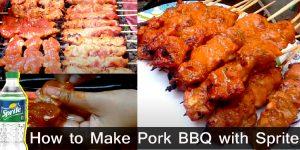 How to Make Pork BBQ with Sprite