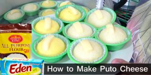 How to Make Puto Cheese