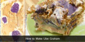 How to Make Ube Graham / Negosyo Recipe