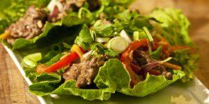 Grilled Steak Lettuce Tacos Recipe