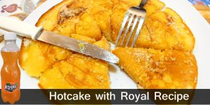 How to Make Pinoy Pancake / Hotcake with Royal