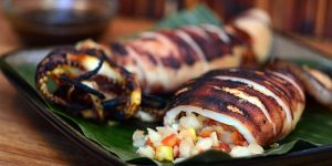 How to Cook Special Inihaw na Pusit (Grilled Squid) Recipe