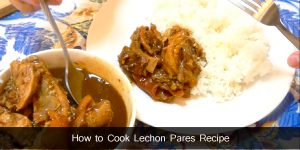 Lechon Pares Recipe
