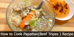 How to Cook Papaitan(Beef Tripes ) Recipe