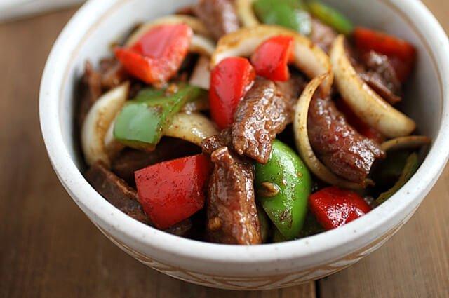 Beef Pepper Steak Recipe
