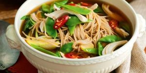 Soba Noodle Soup Recipe