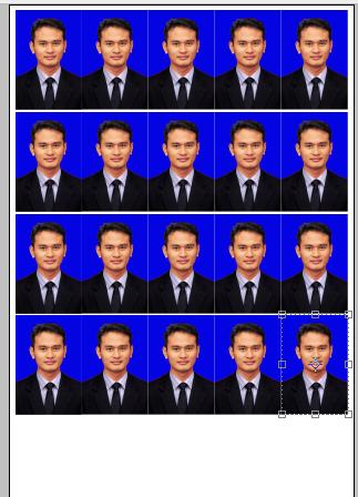 Merubah Ukuran Pas Foto Dan Dicetak Menggunakan Photoshop Kusnendar