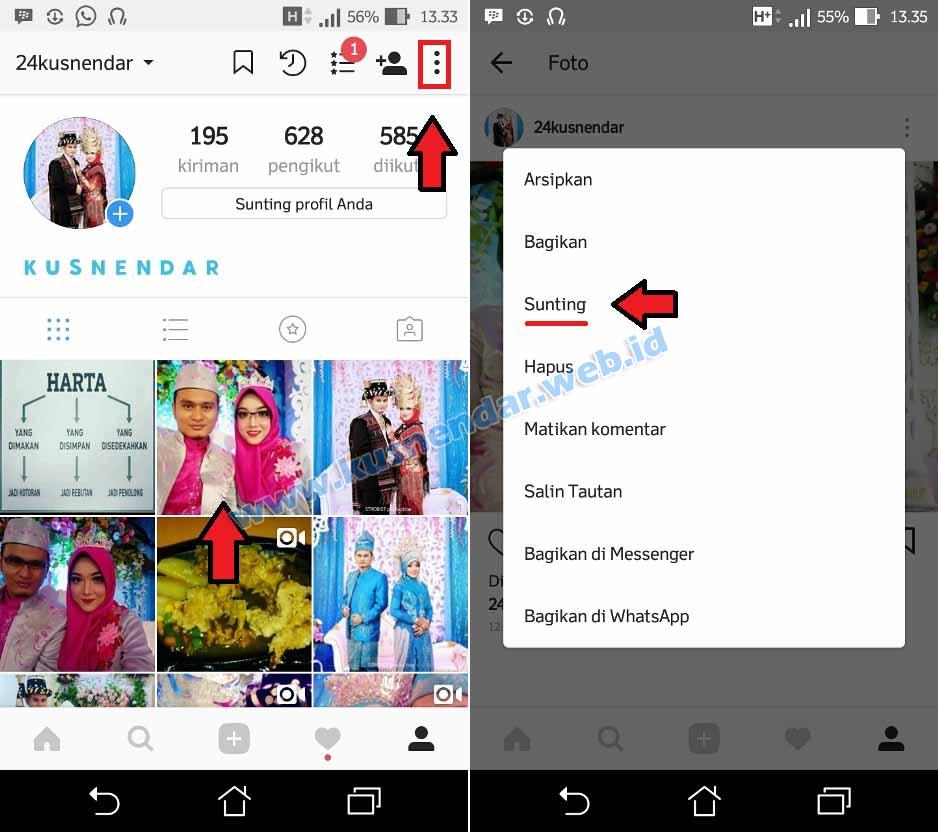 Cara Tag Foto Di Instagram Yang Sudah Diupload Kusnendar