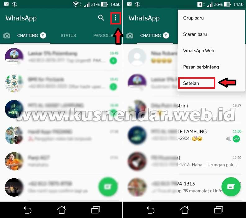 Cara Mengganti Background Dan Wallpaper Chat Whatsapp