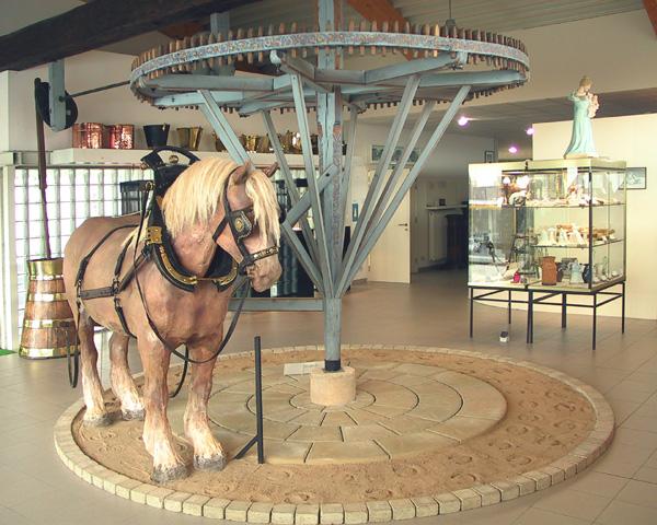Zuivelmuseum paard