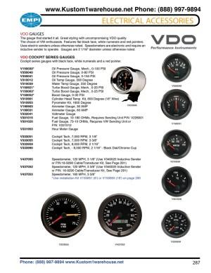 VDO Cockpit gauges, oil pressure, oil and water temperature, fuel, voltmeter, amp meter, turbo