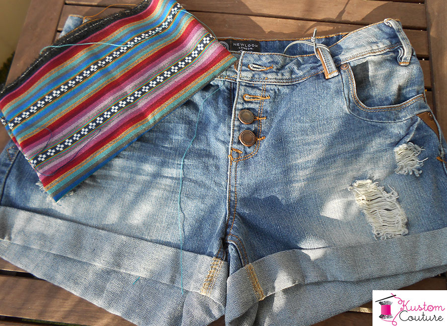 Fournitures pour customisation short | Kustom Couture