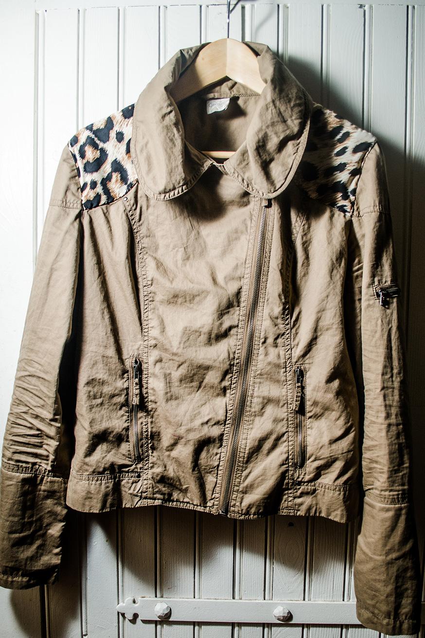 DIY Veste avec tissu léopard | Kustom Couture
