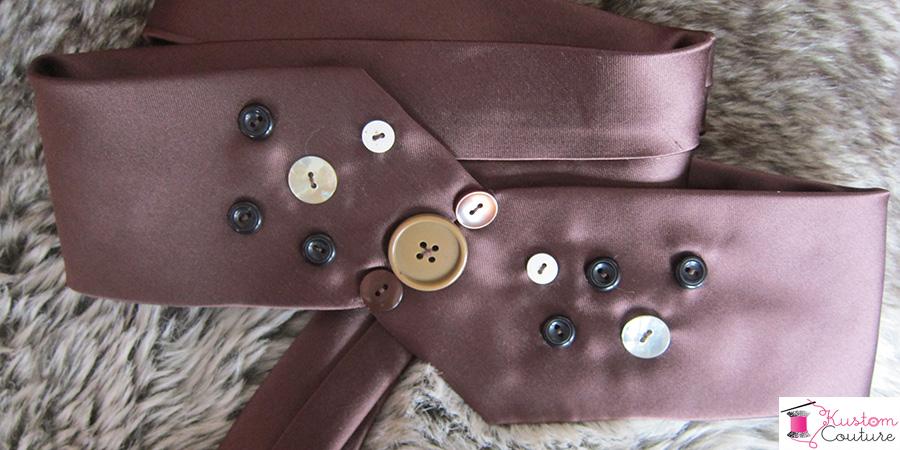 Ceinture avec cravate #3   Kustom Couture