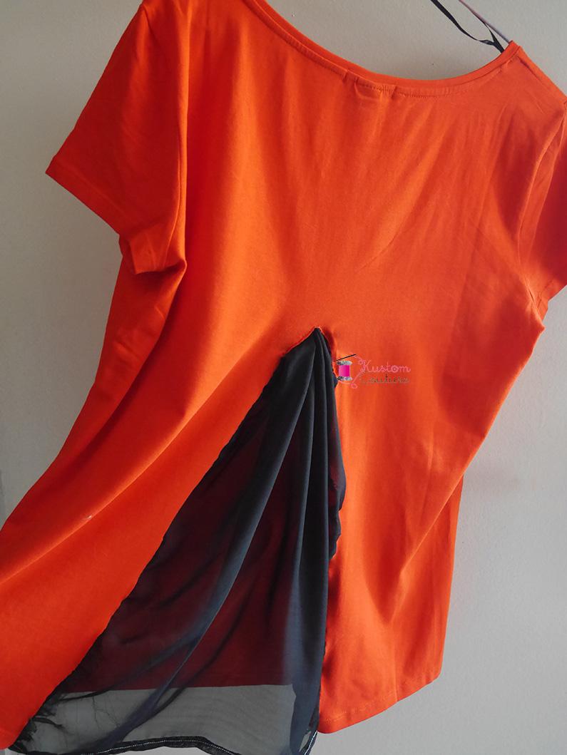 Customiser un haut avec du voile | Kustom Couture