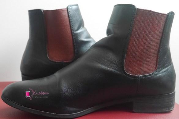 Customiser des bottines basiques avec de la peinture | Kustom Couture