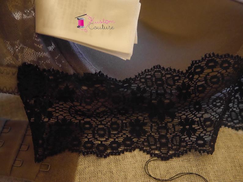Customisation de soutien-gorge avec dentelle | Kustom Couture