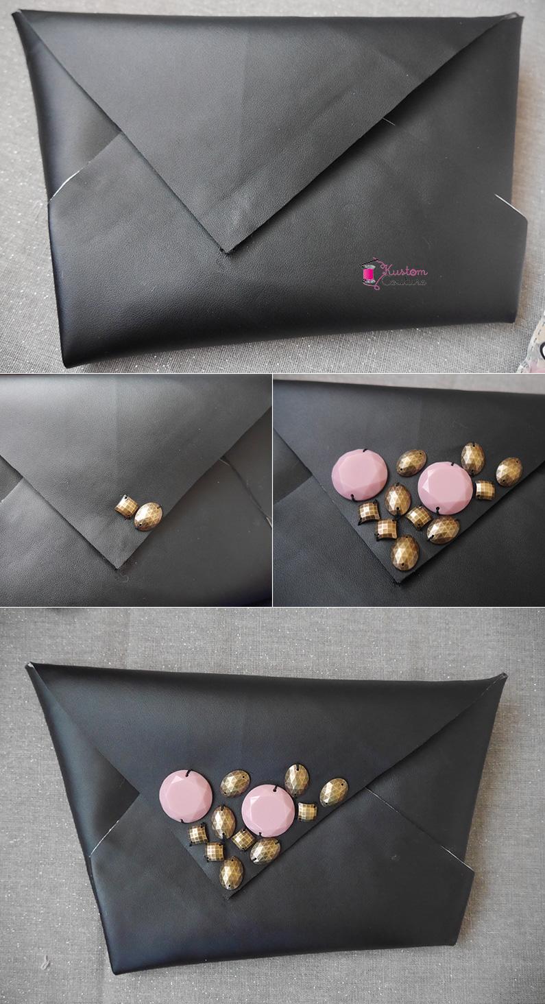 DIY Pochette sac en origami | Kustom Couture