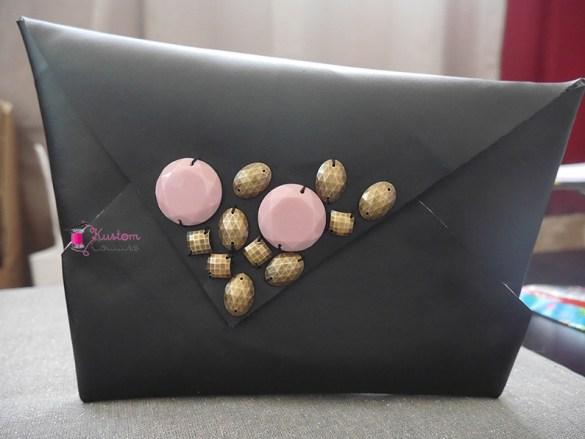 Création d'une pochette sac en origami | Kustom Couture