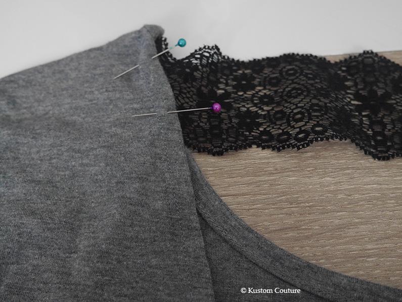 Customisation d'une robe basique | Kustom Couture