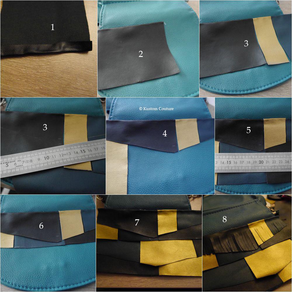 Customiser un sac basique avec des franges| Kustom Couture