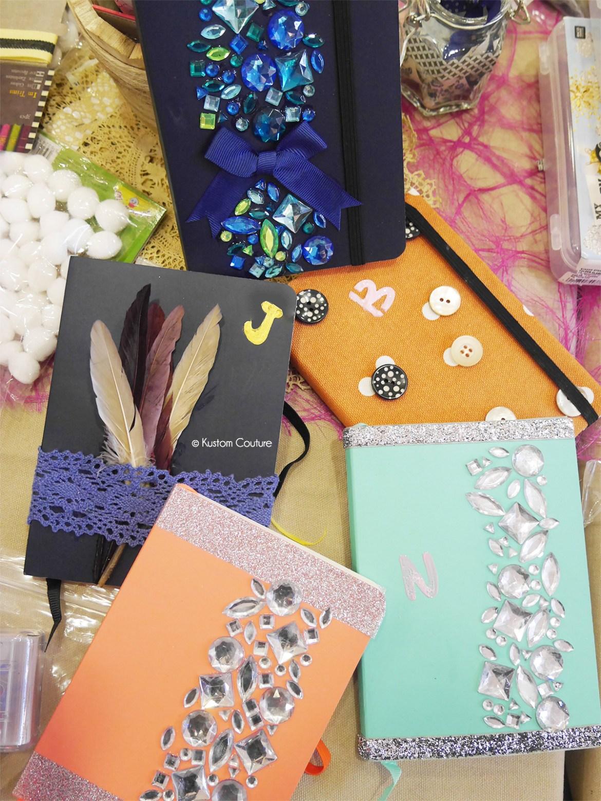 Idée cadeau DIY | Carnets personnalisés | Kustom Couture