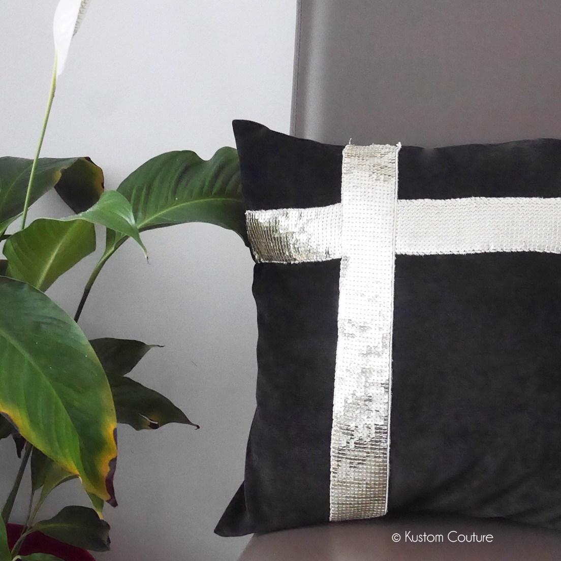 Customiser des coussins avec du ruban | Kustom Couture