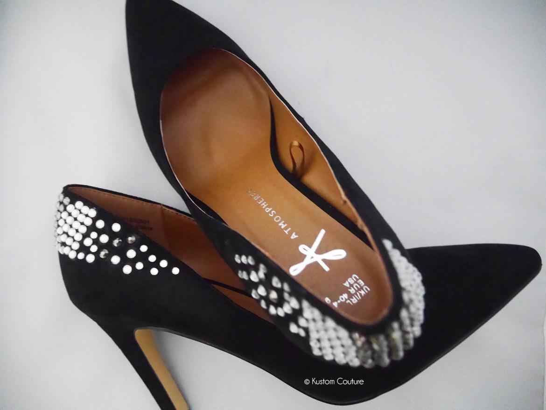 Comment customiser des chaussures à talons   Kustom Couture