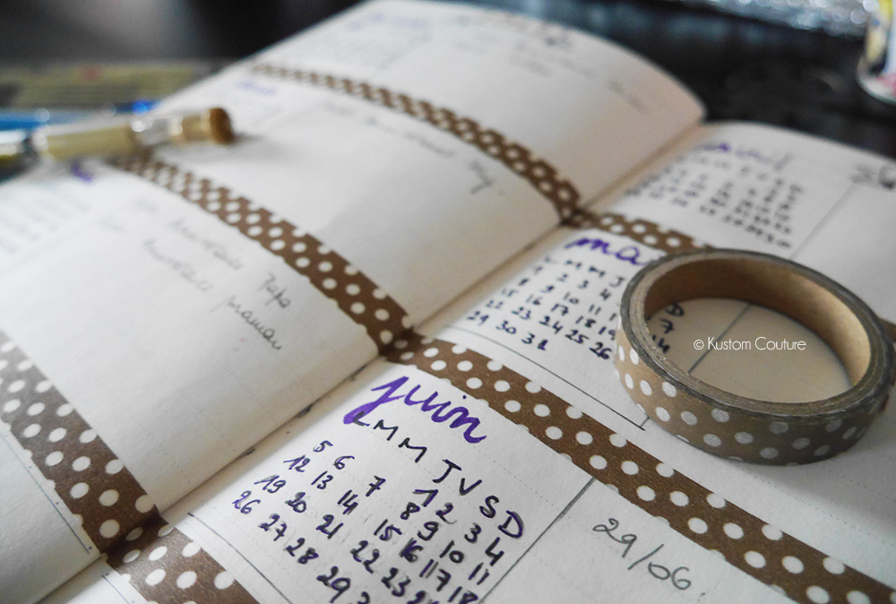 DIY Bullet Journal | Kustom Couture