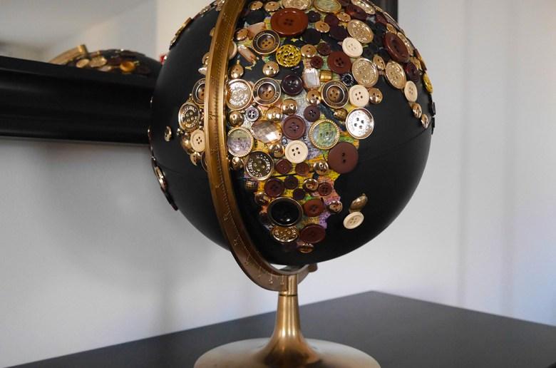 Comment customiser un globe terrestre ? | Kustom Couture