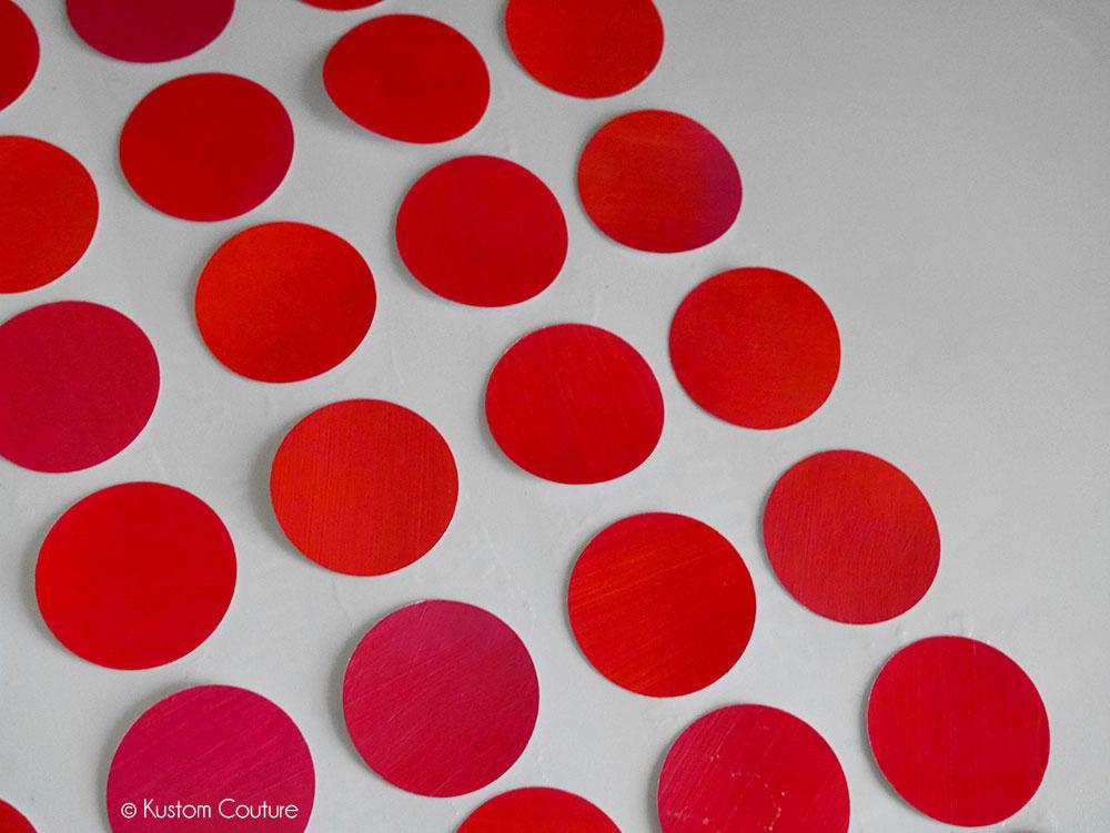 Cadre fait-maison au dégradé rose | Kustom Couture