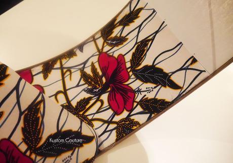 Customiser un abat-jour avec du tissu wax | Kustom Couture