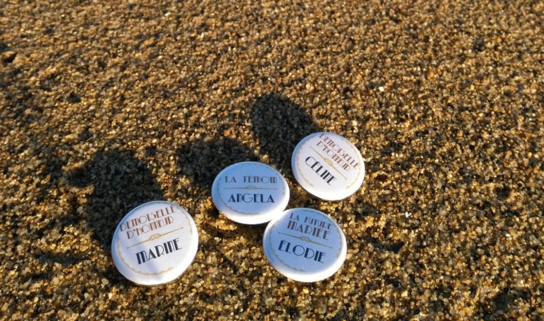 Créer des badges personnalisés pour un EVJF | Kustom Couture