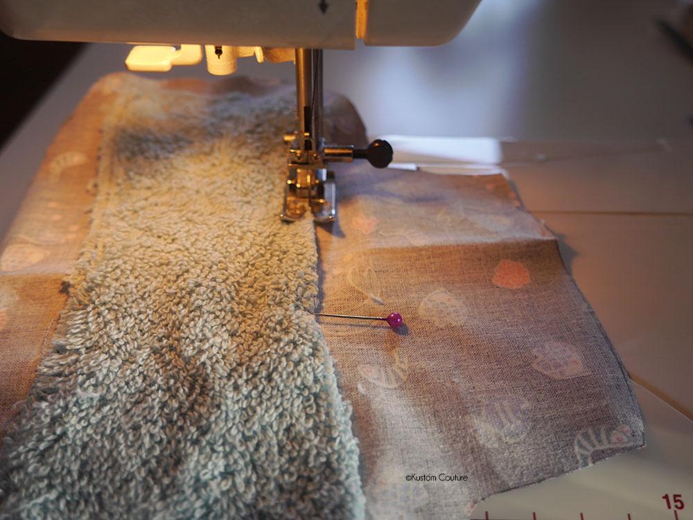 Coudre une serviette hygiènique lavable et sa pochette de rangement | Kustom Couture